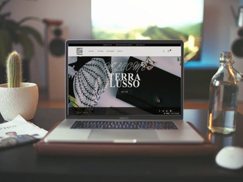 Terralusso-Website
